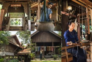 Weaving and Dyeing Classes in Vientiane