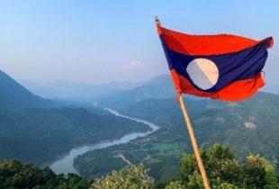 Phadeng Peak in Northern Laos