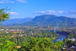 Luang Prabang Mount Phousi View