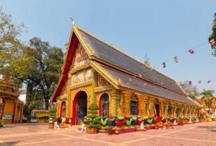 Wat Si Muang Temple, Vientiane