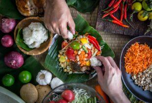 Papaya Salad, Laos Food