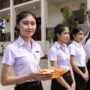 The Academy Training Hotel and Restaurant in Vang Vieng, Laos